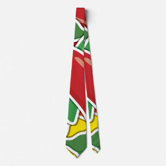 Funky mixed chilli peppers tie