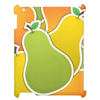 Funky mixed pear cover for the iPad 2 3 4