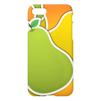 Funky mixed pear iPhone 7 case