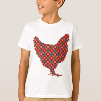 Funky modern chicken T-Shirt