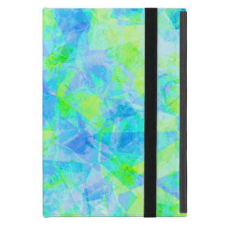 Funky Modern Retro Cool Polygon Mosaic Pattern Case For iPad Mini
