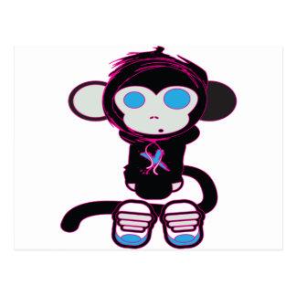 Funky Monkey by HusbandsRock Postcard