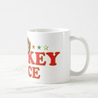 Funky Monkey Face Coffee Mug