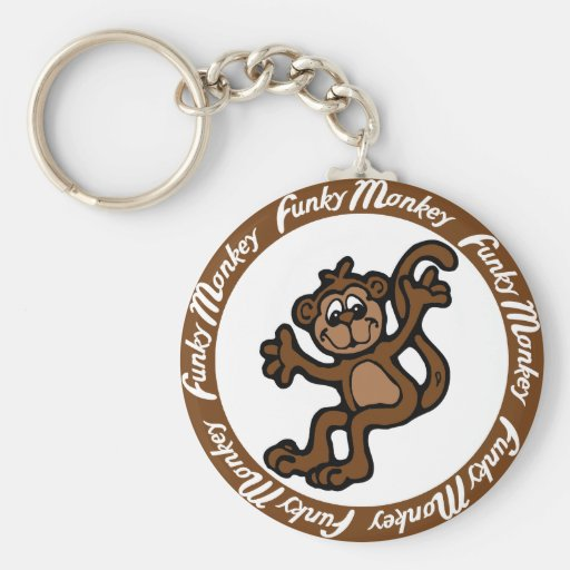 Funky Monkey Key Chains