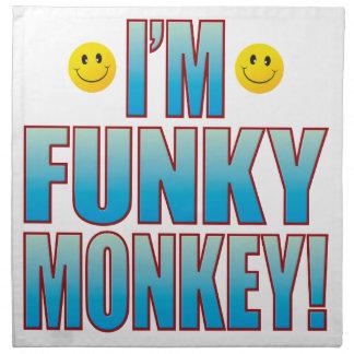 Funky Monkey Life Napkin