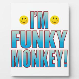 Funky Monkey Life Plaque
