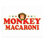 Funky Monkey Macaroni Post Cards