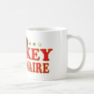 Funky Monkey Millionaire Coffee Mug