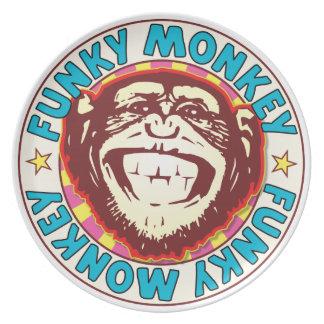 Funky Monkey Plate
