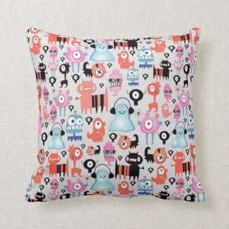Funky Monsters Cushion