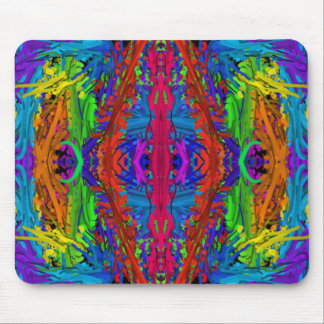 Funky mouse pad