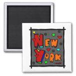 Funky New York, Art In Frame, Multi-Colour