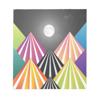Funky Night Mountains.jpg Notepads