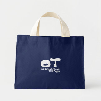 Funky Occupational Therapy Canvas Bag