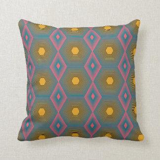 Funky octagon cotton pillow