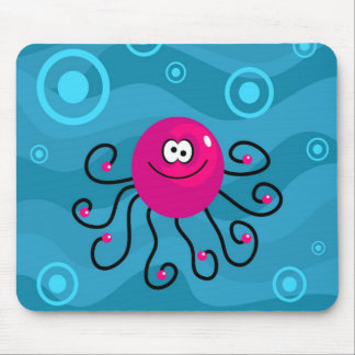 Funky Octopus Mouse Mat