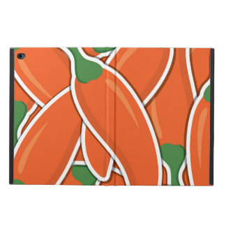 Funky orange chilli peppers powis iPad air 2 case