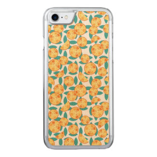 Funky Oranges Carved iPhone 8/7 Case