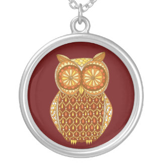Funky Owl Necklace