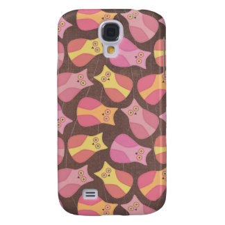 Funky Owl Pattern Animal Designer iphone Protector Galaxy S4 Case