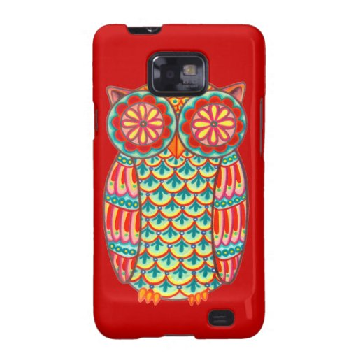 Funky Owl Samsung Galaxy S2 Case for Phone