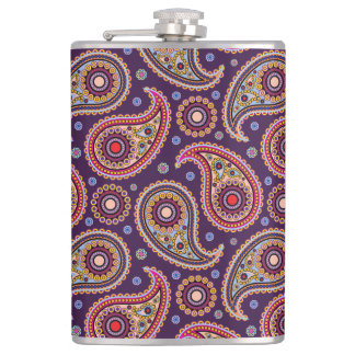 Funky Paisley Flask