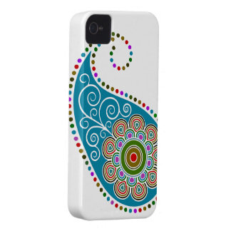 Funky Paisley iPhone 4 Case-Mate Case
