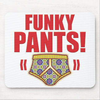 Funky Pants Flowery Mouse Mat