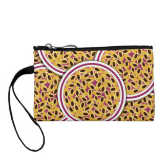 Funky passion fruit coin purse