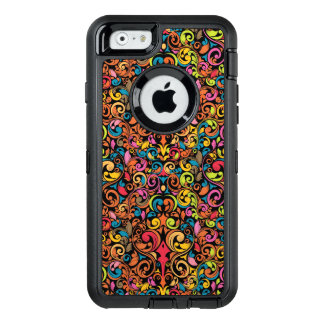 Funky pattern OtterBox defender iPhone case