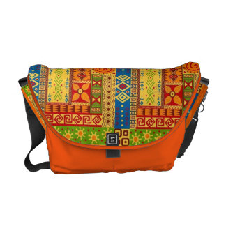 Funky Patterned bag Messenger Bag