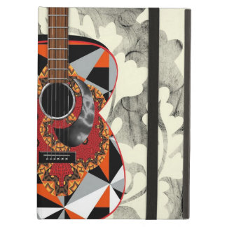 Funky Patterned Guitar Music Theme iPad Air Case