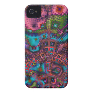 Funky Patterns Abstract iPhone 4 case