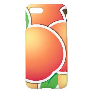 Funky peach iPhone 7 case