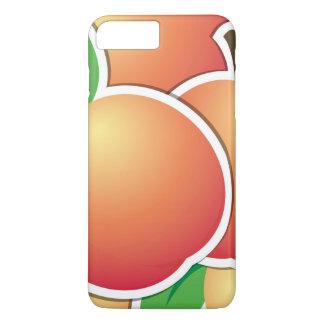 Funky peach iPhone 7 plus case