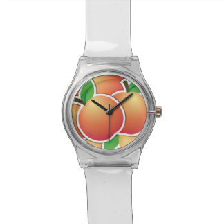 Funky peach watch