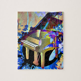 Funky Piano Jigsaw Puzzle