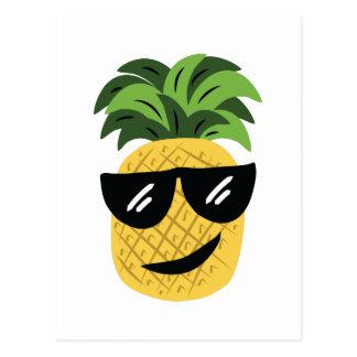 Funky Pineapple Postcard
