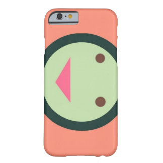Funky pink smiley face iphone case