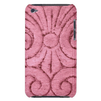 Funky Pink Swirls and Curls iPod Touch Cases