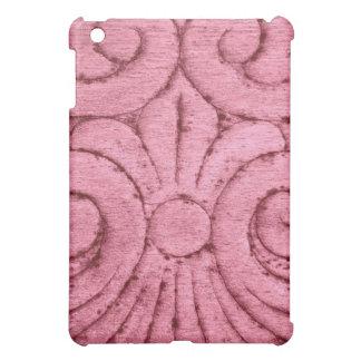 Funky Pink Swirls and Curls iPad Mini Cover
