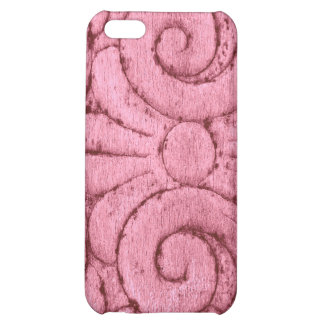 Funky Pink Swirls and Curls iPhone 5C Case