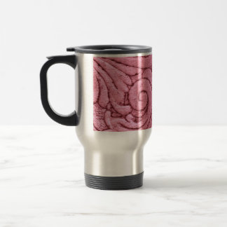 Funky Pink Swirls and Curls Coffee Mug