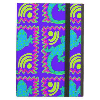 Funky Polka Dot Lizard Pattern Animal Designs iPad Air Cover