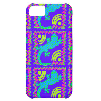 Funky Polka Dot Lizard Pattern Animal Designs iPhone 5C Case