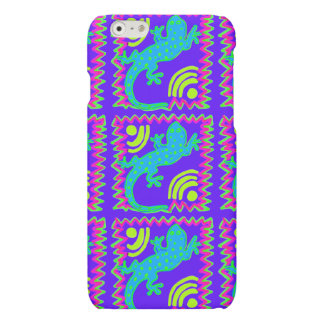 Funky Polka Dot Lizard Pattern iPhone 6 Case iPhone 6 Plus Case