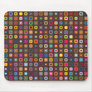 Funky PolkaSquare Mouse Mat