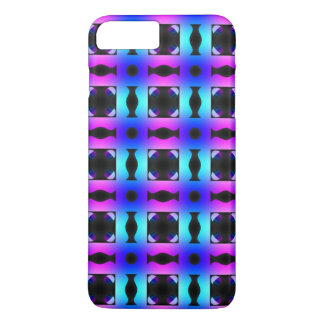 Funky Psychedelic Checkerboard Pattern iPhone 8 Plus/7 Plus Case
