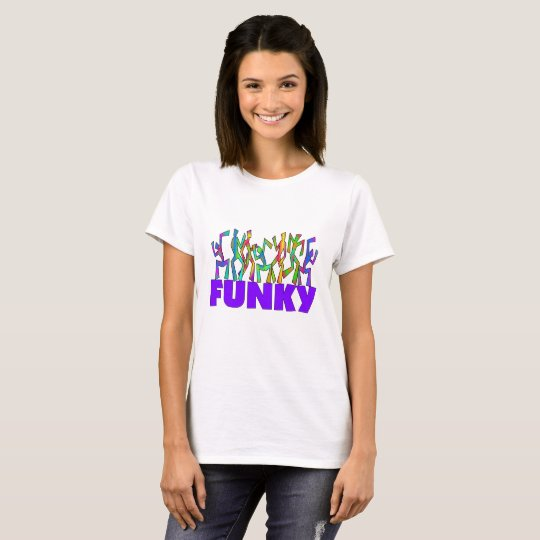 FUNKY Psychedelic Disco Dancers T-Shirt