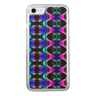 Funky Psychedelic Pattern Carved iPhone 8/7 Case